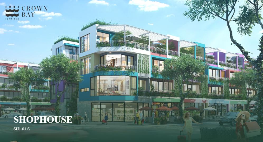 Giai đoạn 1 của dự án sẽ ra mắt phân khu Flamingo Crown Bay với 2 loại hình sản phẩm chính: Shophouse mặt biển xây cao 3,5 tầng. Giá dự kiến đang rơi vào ...