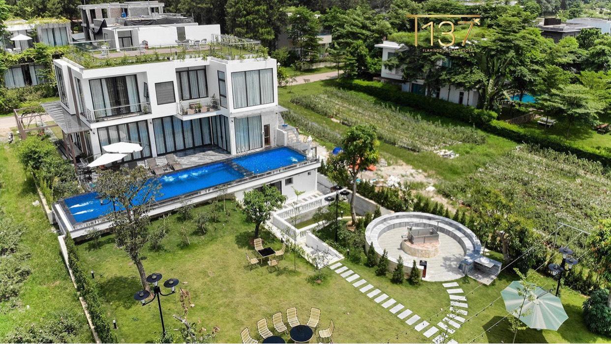 Biệt thự luxury the Legend Villas Flamingo Đại Lải, biệt thự