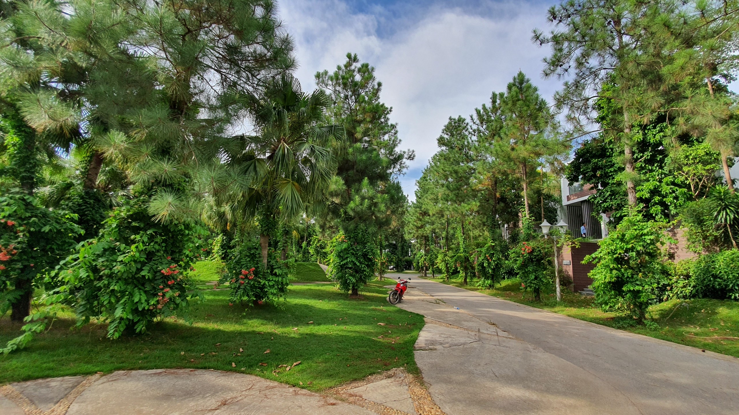 Biệt thự luxury the Legend Villas Flamingo Đại Lải, rừng thông