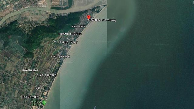 Vị trí độc đáo của Flamingo Crown Bay là bãi biển Linh Trường